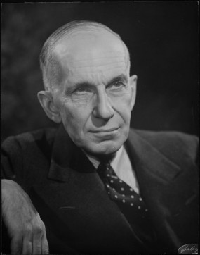 Vincent Massey, chair of the Massey-Lévesque Commission (1954).