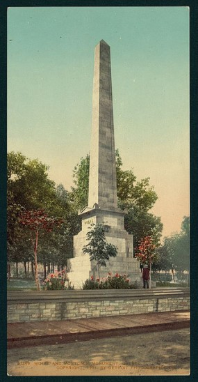 The Wolfe & Montcalm Monument in Quebec. Quebec is an example of a nation within a state.