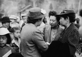 Japanese Canadians being relocated to internment camps in interior BC. The Jade Peony explores the impact of the internment on the Chinatown community.