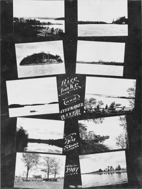 Rice Lake and Onotabee River, 1907.