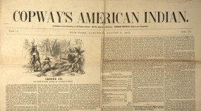 A cover of Copway's American Indian magazine.