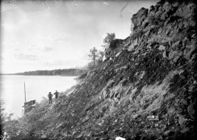 Tar Sands Geological Survey, Athabasca River, Alberta, 1892