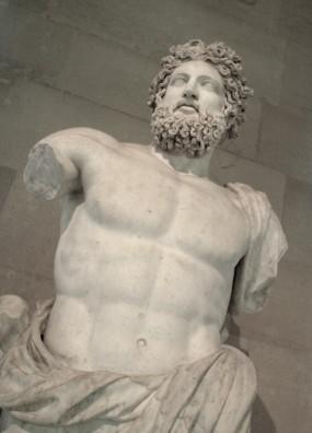 Bust sculpture, Paris, FR
