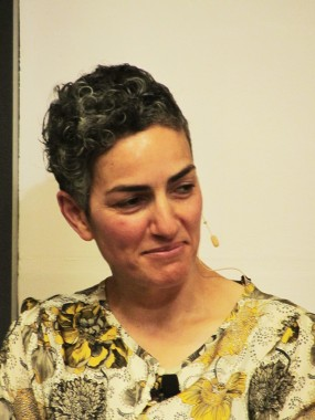Annamarie Jagose lecturing, 1 Nov 2012