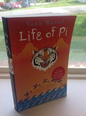Cover of the 2011 Vintage Canada edition of Life of Pi by Yann Martel