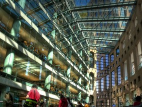 The Vancouver Public Library is one of many libraries in Canada that make it possible for community members to access the Canada Reads books