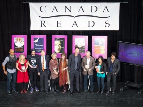 The participants of Canada Reads 2013