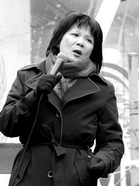 Politician Olivia Chow was a Canada Reads judge in 2005, defending Oryx and Crake by Margaret Atwood