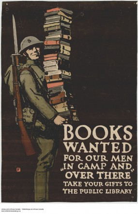 This poster from World War I is an example of the relationship between literacy, nationalism, and militarism