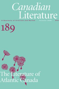 Cover of CanLit 189