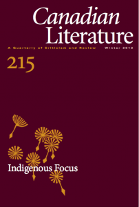 Cover of CanLit 215