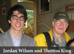 Jordan Wilson and Thomas King