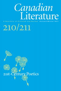 Cover of CanLit 210/211