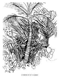 Illustration by P. K. Irwin (P. K. Page) accompanying Extracts from a Brazilian Journal.