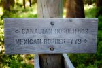 Sign on the Pacific Crest Trail, Oregon. Carissa Rogers, 2010. CC BY 2.0, via Flickr.